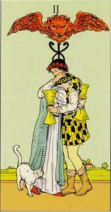 Tarot Cards About Love two snakese