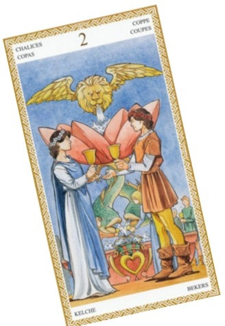 Tarot Cards For Love 2 cups