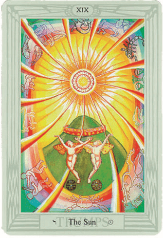 Crowley Love Tarot Cards Deck