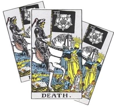 Love Tarot and The Death Card