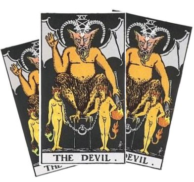 Love Tarot and The Devil Card