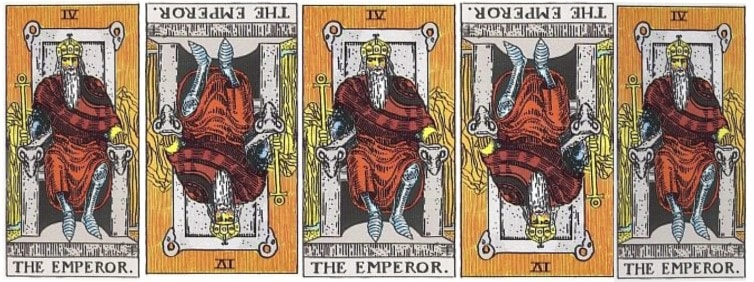 Love Tarot and The Emperor Card