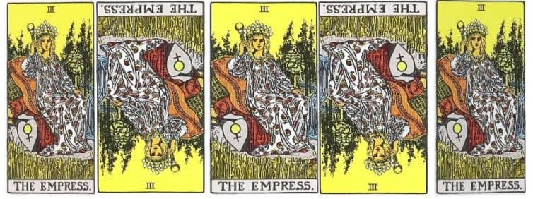 Love Tarot and The Empress Card