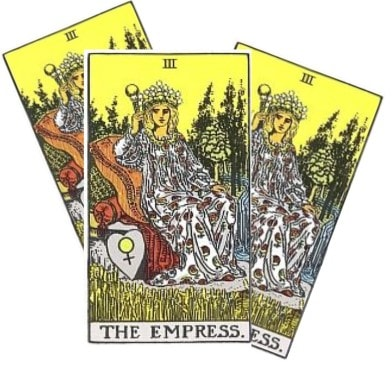 Love Tarot and The Empress Card