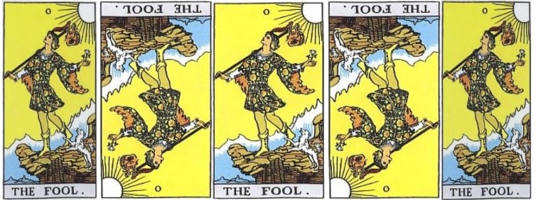 the fool love tarot card