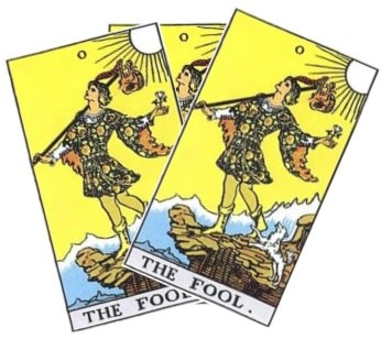 Love Tarot and The Fool Card