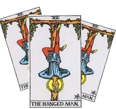 Love Tarot and The Hanged Man Card