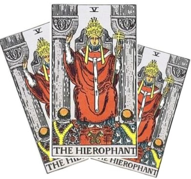 Love Tarot and The Hierophant Card