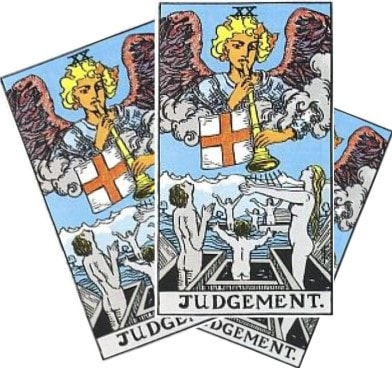 Love Tarot and The Judgement Card