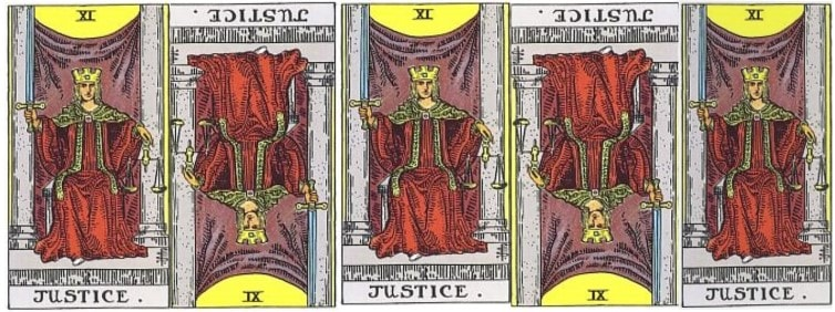 Love Tarot and The Justice Card