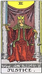 The Major Arcana Justice