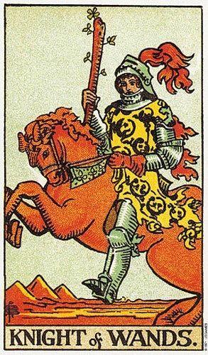 love tarot knights