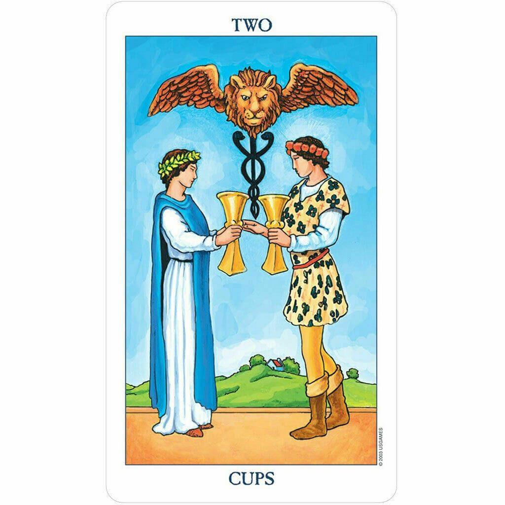Love Tarot Cards rider waite deck