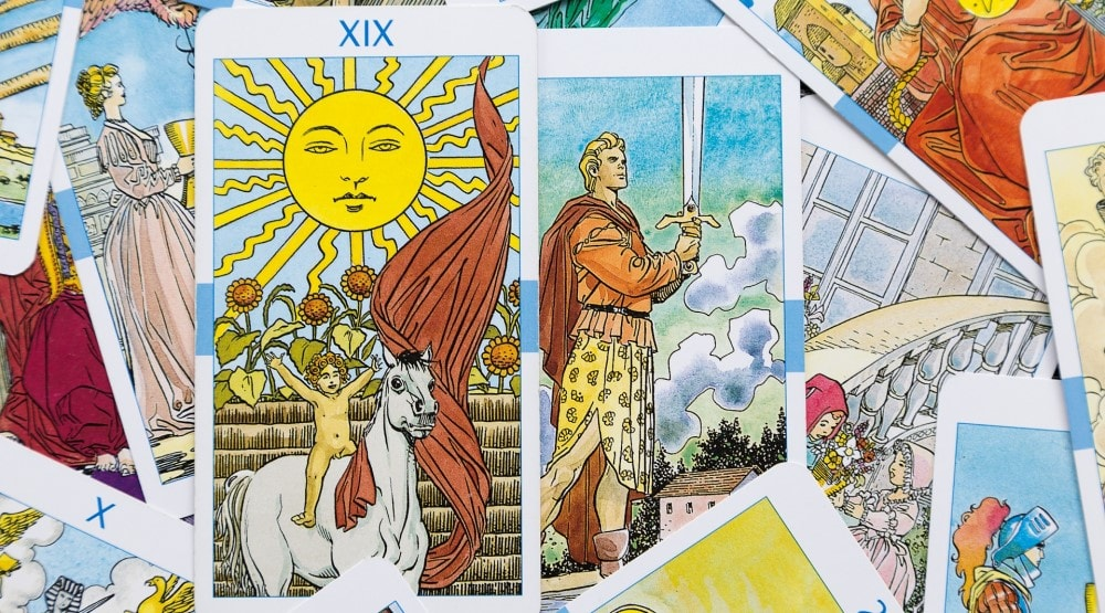 Love Tarot 3 Cards major arcana cards
