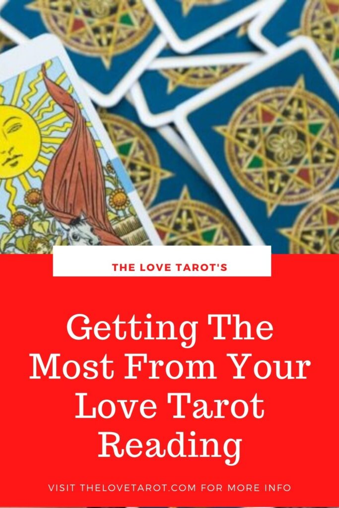 Pinterest Love Tarot Card Reading Button