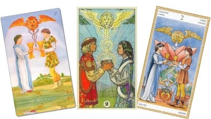 Tarot Cards For Love 3 cards