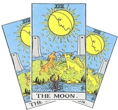 Love Tarot and The Moon Card