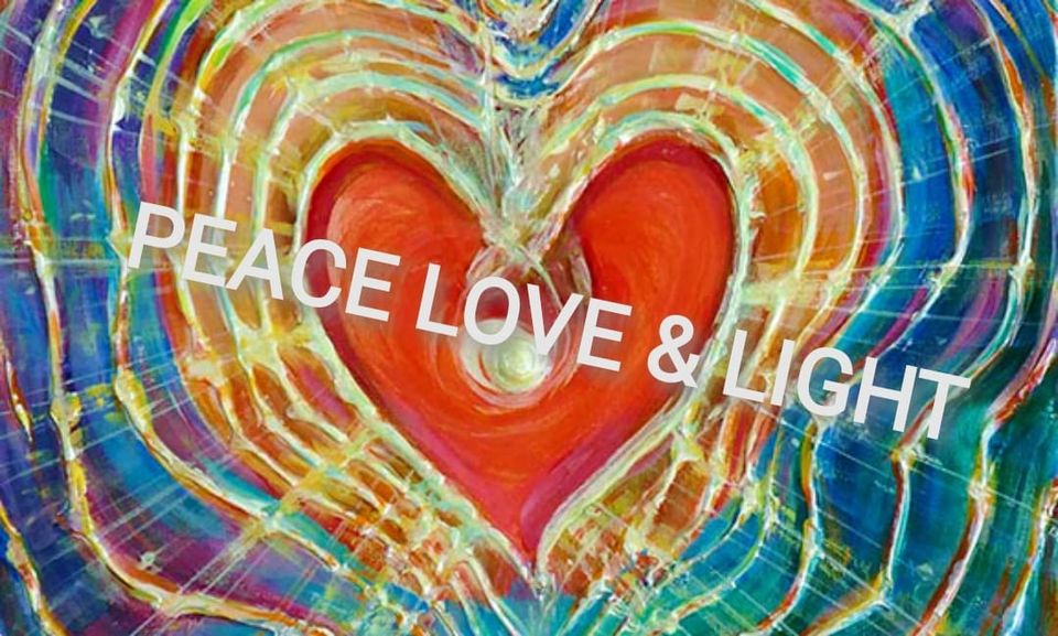 peace love and light