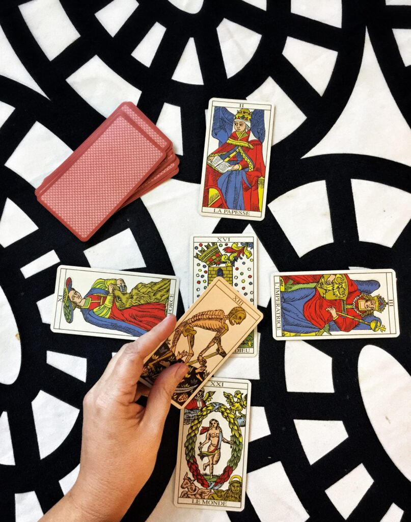 The Major Arcana reading