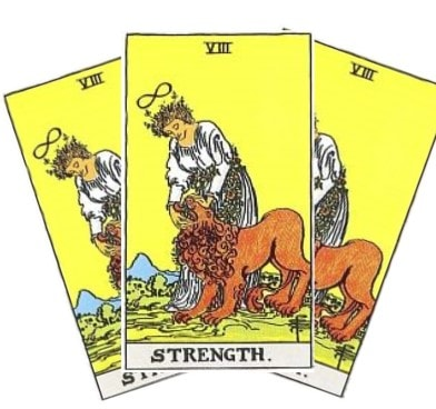 Love Tarot and The Strength Card