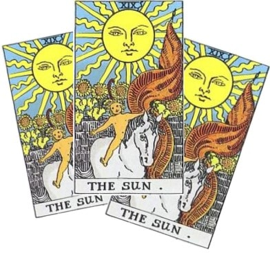 Love Tarot and The Sun Card