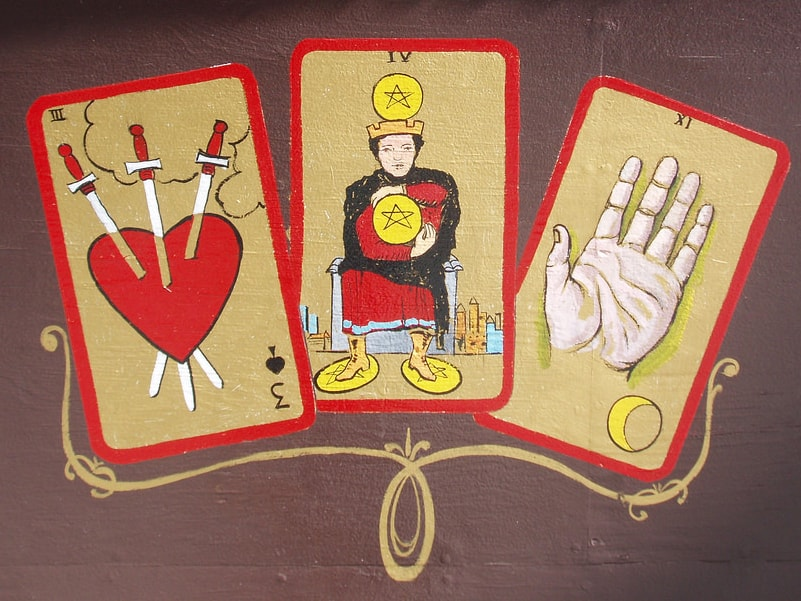 Love Tarot 3 Cards past cards