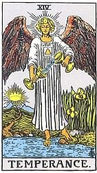 The Major Arcana Temperance