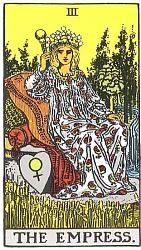 Love Tarot Cards the empressw