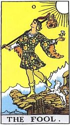 The Major Arcana The Fool