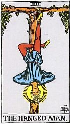 The Major Arcana The Hanged Man