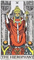 The Major Arcana The Hierophant