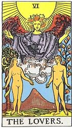 The Major Arcana The Lovers