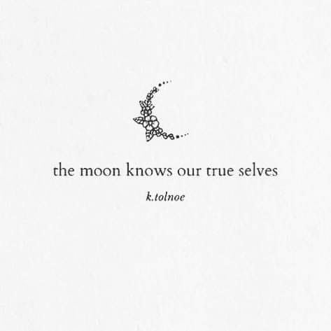 the moon knows our true selves min