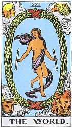 The Major Arcana The World