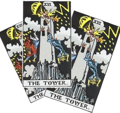 Love Tarot and The Tower Card