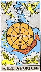 The Major Arcana Wheel Of Fortune
