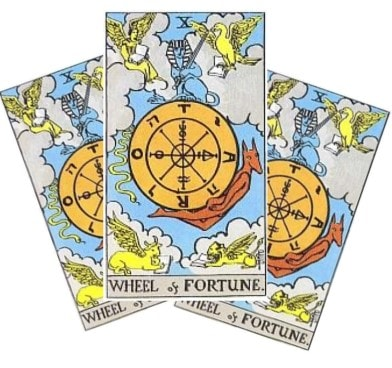 Love Tarot and The Wheel Of Fortune Card