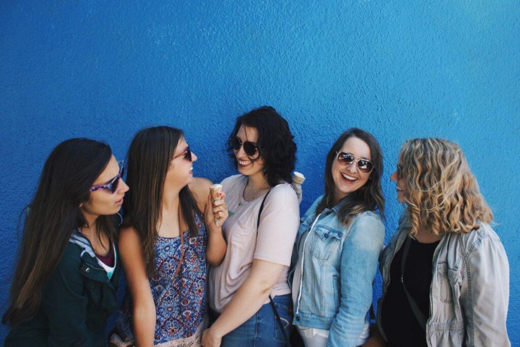 interest in friends